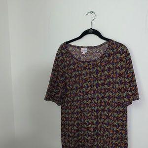 LULAROE - Multicolored Julia Dress